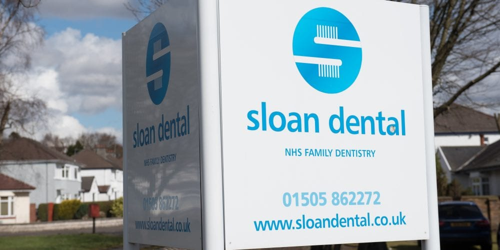 Sloan Dental Sign