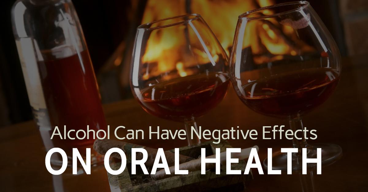 "Why your dentist says ""Go sober for October"" Sloan Dental"